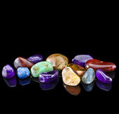 Semi-precious stones — Stock Photo