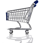 Shopping basket cart — Stockfoto