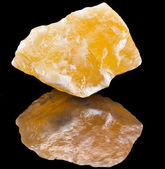 Calcite crystal mineral — Stock Photo