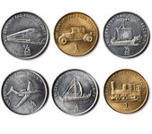 "Set of coins  ""XXI CENTURE FAO FOOD SECURITY"" — Stock Photo"