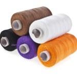 Colorful bobbin thread set — Stock Photo #48503239
