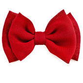 Red bow tie — Stock Photo