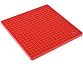 Kitchen silicone place mat — Stock Photo