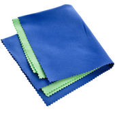Soft cleaning cloth for optics — Foto de Stock