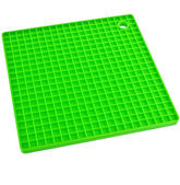 Green Kitchen silicone placemat — Stock Photo