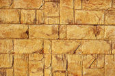 Old Yellow Bricks Wall Pattern — Stock Photo