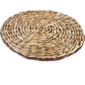 Wicker placemat — Stock Photo