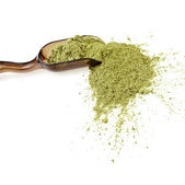 Powdered Green Tea Matcha — Stock Photo