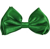 Green bow tie — Stock Photo