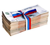 One Million Banknotes Rubles — Stock Photo