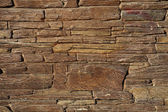Old Brown Bricks Wall Pattern — Stock Photo