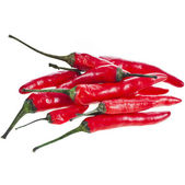 Red hot pepper paprika — Stok fotoğraf