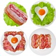 Protein foods nutritious meals — Stock Photo #50788277