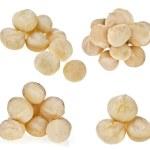 Macadamia nuts heap — Stock Photo #50788295