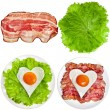 Protein foods nutritious meals — Stock Photo #50788299