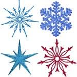 Snowflake ornament decoration — Stock Photo #50788309