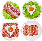 Protein foods nutritious meals — Stock Photo