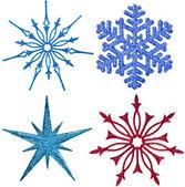 Snowflake ornament decoration — Stock Photo