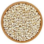 Pearl Barley Heap top view surface — Stock Photo