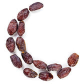 Arabic dates arranged in a shape of moon — Stock Photo
