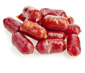 Small sausages — Stock Photo