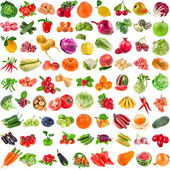 Set of Various Fresh Ripe Vegetables — Foto de Stock