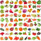 Set of Vegetables,  Fruits, Berries — Foto Stock