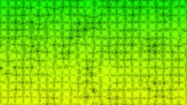Green yellow shade dots — Stock Video