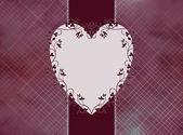 Heart and swirls — Stock Photo