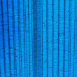 Awnings blue cloth background. — Stock Photo #33687995