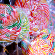 Stock Photo: Mixed colorful fruit bonbon candy