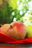 Mango on the table. — Stock Photo