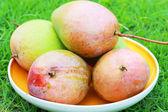 Mango in the dish. — Stock Photo
