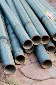 Concrete drainage pipe — Stock Photo