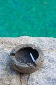 The ashtray — Stock Photo