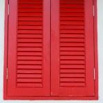 Vintage Red Window — Stock Photo #34183317