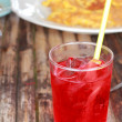 Stock Photo: Red beverage