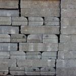 Pile of bricks. — Stock Photo