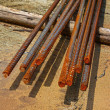 Steel rebar for Construction — Stock Photo