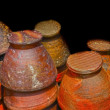 Stock Photo: Earthenware brown - in market.