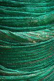 Green fabric rolls. — Foto Stock