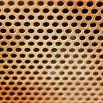 Close up of speaker grid — Stock Photo #35306001
