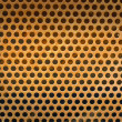 Close up of speaker grid — Stock Photo