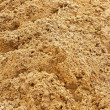Sand pile for construction in store — Stock Photo