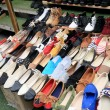 The shoe store at the market — Stock Photo