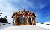 Temple - Wat Thailand beautiful — Stock Photo