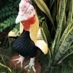 Sculptures chicken. — Stock Photo #37746543
