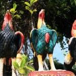 Sculptures chicken. — Stock Photo #37746901