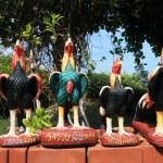 Sculptures chicken. — Stock Photo #37747031