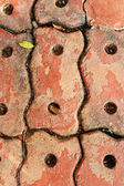 Bricks on the walkway background — Stock Photo